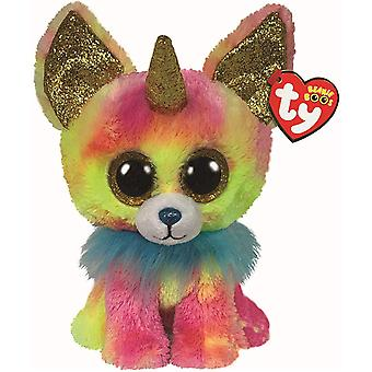 TY Yips Chihuahua with Horn Beanie Medium 22 cm