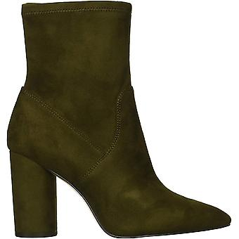 BCBGeneration Women's Ally Fashion Boot, Olive, 5.5 M US