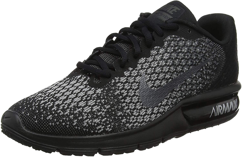Nike Women ' s Wmns Air Max sequent 2, SvartMetallic hematit mörkgrå, 5,5