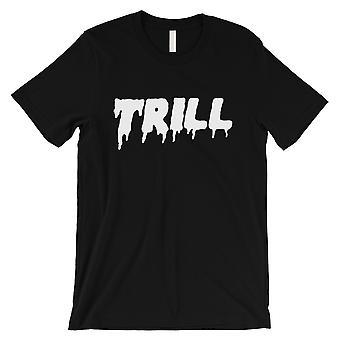 365 Impresión Trill Hombres Negro Chill Confident Cool Tendencias Inspiradora Camiseta
