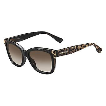 Jimmy Choo Bebi/S PUE/J6 Dark Brown-Animal Print/Brown Gradient Zonnebrillen