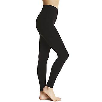 Socks Uwear Women's Black High Waisted Shaper Leggings