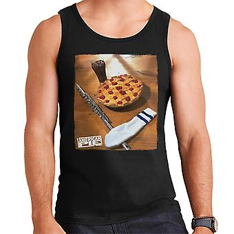 American Pie Flute Sock And Pie Men's Vest