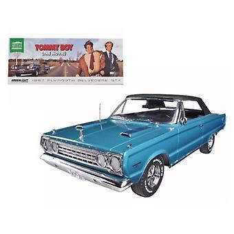 1967 Plymouth Belvedere GTX Film De Tommy Boy (1995) 1/18 Diecast Model Car par Greenlight