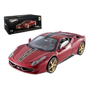 Ferrari 458 Italia Elite China Edition 1/18 Diecast Car Model by Hotwheels