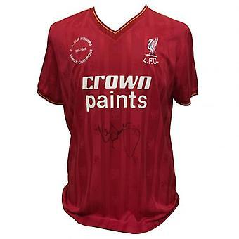 Liverpool Dalglish Signed Hemd