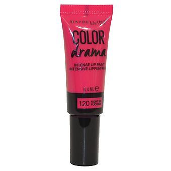 Maybelline kleur Drama intens Lip verf 6,4 ml vechten Me Fuchsia #120