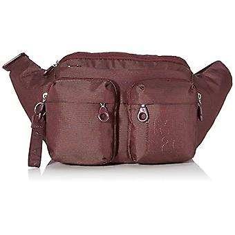 Mandarin Duck Md20 Minuteria Purple Woman Shoulder Bag (Balsamic) 44x23x95 cm (W x H x L)