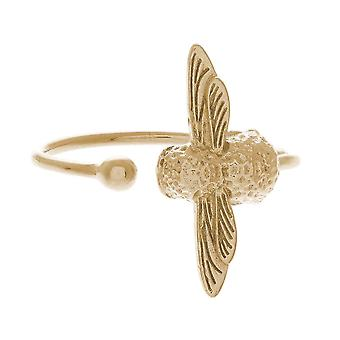 Olivia Burton Watches Obj16amr01 Moulded Bee Ring Gold