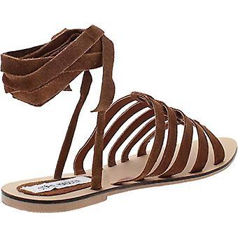 Steve Madden mujeres Hera falso ante enjaulado sandalias de vestir