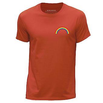 STUFF4 Men's Round Neck T-Shirt/LGBT/Gay Pride/Orange