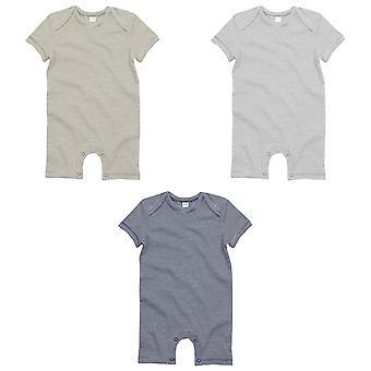 BabyBugz Unisex Baby Short Sleeve Striped Bodysuit