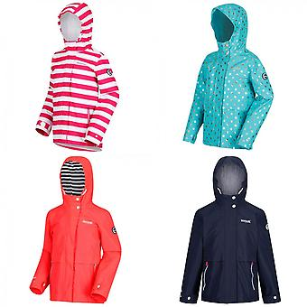 Regatta Girls Bambalina Lightweight Hooded Waterproof Jacket