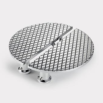 Brass Cabinet Handles - Chrome - Diamond