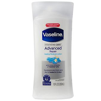 Vaseline intensive rescue advanced repair lotion, fragrance free, 10 oz