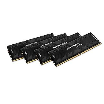HyperX المفترس HX430C15PB3K4/64 ميموريا DDR4 64 GB كيت (4 × 16 جيجابايت)، 3000 ميغاهرتز CL15 DIMM XMP