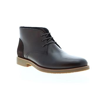 English Laundry Juno  Mens Brown Leather Lace Up Chukkas Boots Shoes