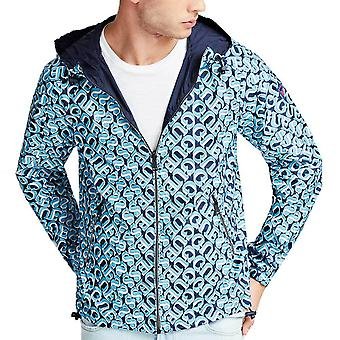 Guess Reversible Allover Logo Summer Jacket   M02L42WCQA0