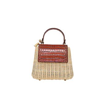 Amma Mode Calipsotan Women's Brown Leather Handbag