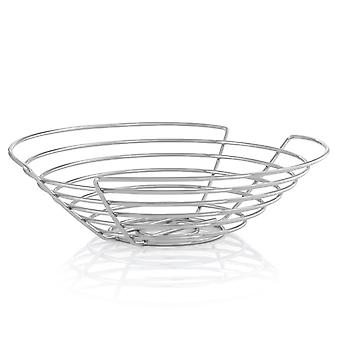 Blomus basket WIRES, chrome-plated