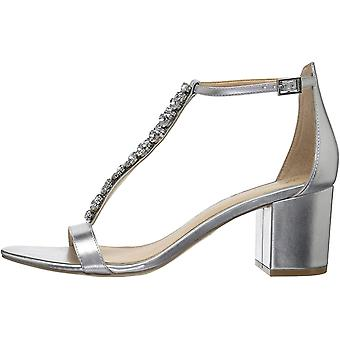 BADGLEY MISCHKA Womens JW2157 Leather Open Toe Casual Ankle Strap Sandals