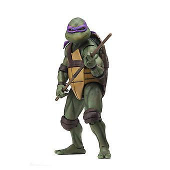 "NECA Teenage Mutant Ninja Turtles Donatello 1990 Movie 7"" Action Figure"
