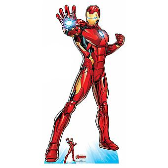 Iron Man Official Lifesize Marvel Avengers Cardboard Cutout / Standee