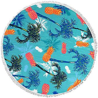 Round beach towel thickening With tassel 150CM