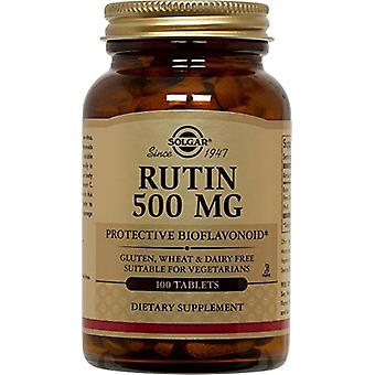 Solgar Rutin 500 mg Tablets 100 Ct