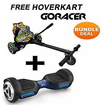 G PRO Blue Segway z Racerem Hip Hop Hovercart