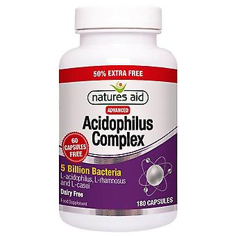 Nature's Aid Acidophilus Complex 5 Billion Capsules 180 (126446)