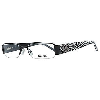 Naisten silmälasikehys Arvaa GU2220-BLK-52 (ø 52 mm) Musta (ø 52 mm)