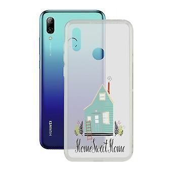 Capa móvel Huawei P Smart 2019 Home Contact Flex Home TPU