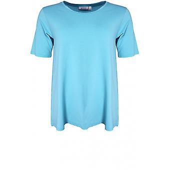 Masai Kleidung Butta blau Nebel Jersey T-Shirt