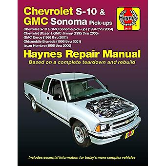 Chevrolet S-10 & GMC Sonoma Pick-Ups Haynes Repair Manual - Chevro