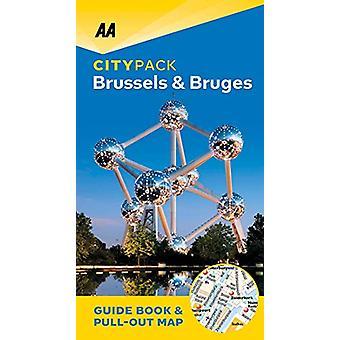 Brussels & Bruges - AA CityPack - 9780749581749 Book
