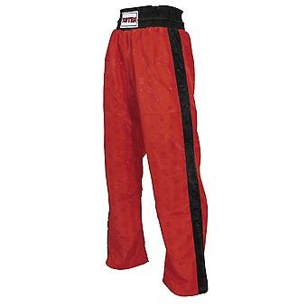 Top Ten Kids Classic Kickboxing Pantalon Rouge/Noir
