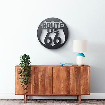 Metal Wall Art - Route 66