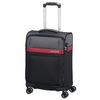 travelite Stream HandbagAge Trolley S, 4 Hjul, 55 cm, 39 L, Svart