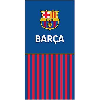 FC Barcelona Half Stripe Asciugamano