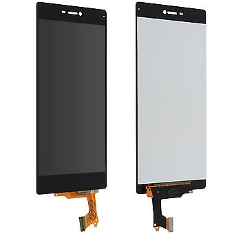 LCD replacement part with touchscreen for Huawei P8 - Black