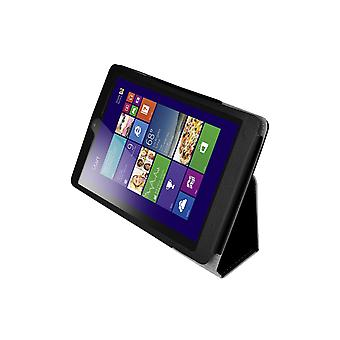 "Magnetic PU Leather Case Cover for Lenovo MiiX 3 7.85"" Tablet[Black]"