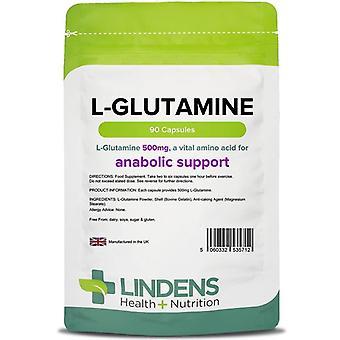 Lindens L-glutamiini 500mg Kapselit 90 (5712)