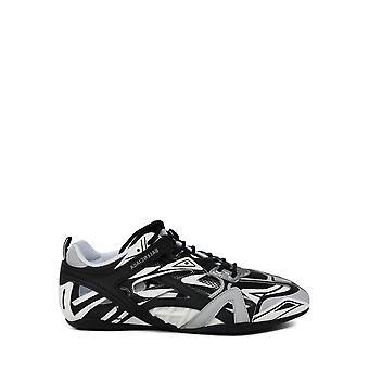 Balenciaga 624343w2fd11019 Männer's Grau/schwarz Synthetische Fasern Sneakers