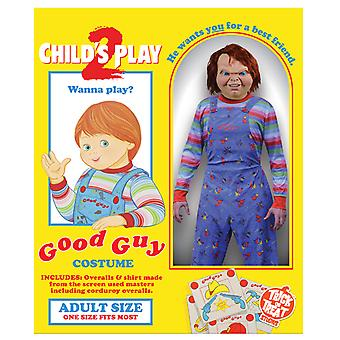 Child's Play 2 Deluxe Good Guy Costume Adult