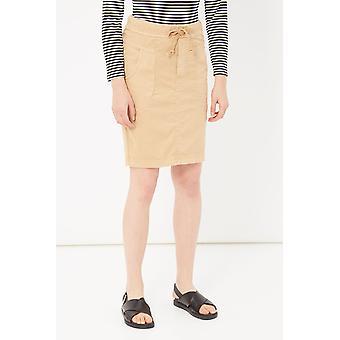 Beige Skirt Please Woman