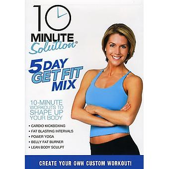 10 minute oplossing - 5 Day Get Fit Mix [DVD] USA import