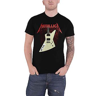 Metallica T Shirt Eet Fuk Band Logo nouveau Officiel Mens Black
