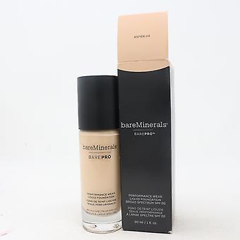 Bareminerals Barepro 24Hr Performance Wear Liquid Foundation 1oz Nuovo con Scatola