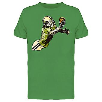 American Football Player Graphic Tee Men's -Image by Shutterstock